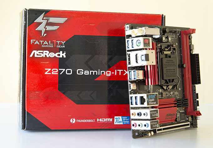 ASRock Fatal1ty Z270 Professional Gaming-ITX/AC