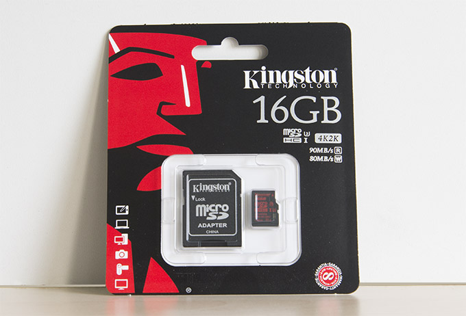 Kingston MicroSDHC UHS-I 16GB