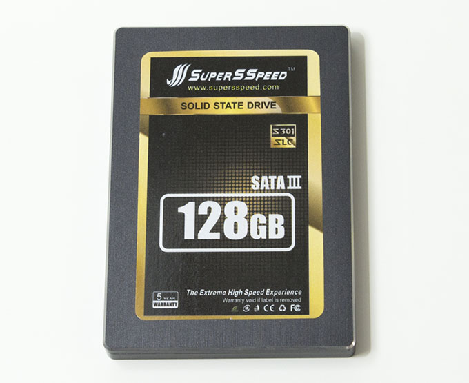 SuperSSpeed S301 SLC 128GB